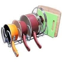 Decobros Gabinete De Cocina Y Despensa Organizador Rack, 6 C
