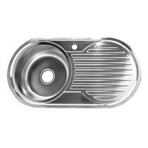 Tarja Con Escurridero Para Cocina Metalflu Lbf