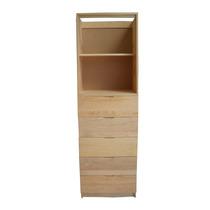 Gabinete De 5 Cajones 2 Entrepaños En Pino Para Closet