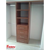 Closet de madera rec mara mercadolibre m xico for Disenos de closets sencillos