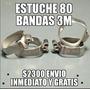 Bandas 3m Con Tubo Estuche