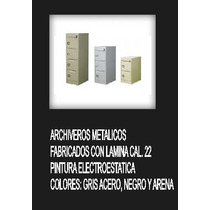 Archivero Metalico