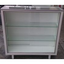 Vitrina Exhibidora Mostrador Metalico Exhibidor De Cristal