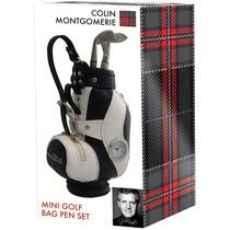 Regalo Golf - Bolsa Plumas Set Clubes Colin Montgomerie Con