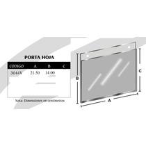 Porta Hoja V 21.5 X 14 Cm Mod3044