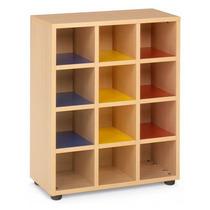 Mueble Utiles Escolares (mochilero) De 60 X 90 Cm.c/6 Comp.