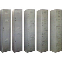 Locker Casillero Estandar Metalico 2 Puertas