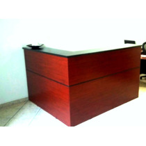 Mueble Recepcion 1.80x1.60 L Escritorio Call Center Mesa