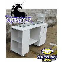 Mesa Para Estetica, Uñas, Manicure De 1.20 De Largo.