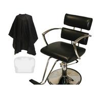 Silla Hidraulica Estetica Salon Peluqueria Con Capa Y Cubier