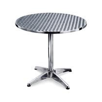 Mesa De Aluminio Cubierta Acero Inoxidable Para Bares Yb-515
