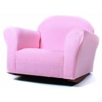 Sillón Silla Mecedora Rosa Fantasy Furniture Para Niñas