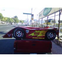Cama Rayo Mcqueen De La Pelicula Cars 2