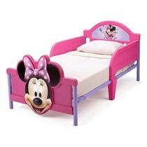 Cama Camita Infantil 3d Minnie Cars Sofia Doctora Elmo Tortu