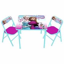 Mesa De Actividades Infantil Para Niña Frozen,minnie,doctora