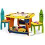 Mesita Mesa Infantil + Sillas Crayola Niños Actividades Fn4
