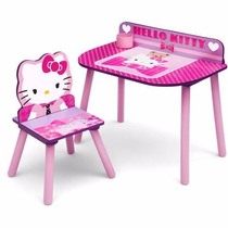 Escritorio Infantil Para Niña Hello Kitty