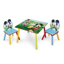 Delta Niños Mesa Y Juego De Sillas De Mickey Mouse