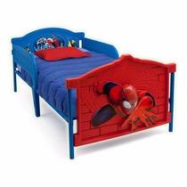 Cama Camita Individual 3d Spiderman