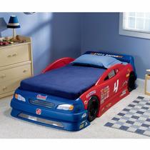 Super Cama Para Niños Carro Convertible