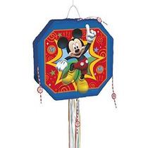 Mickey Mouse Clubhouse Piñata Tirón De Cuerda