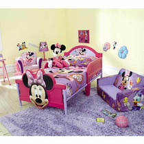 Cama Camita Infantil 3d Niña Disney Minnie Mouse