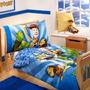 Disney 4 Piezas Juego De Cama Niño De Buzz Woody Y La Pandil