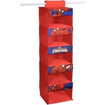 Organizador De Closet Colgante Spiderman