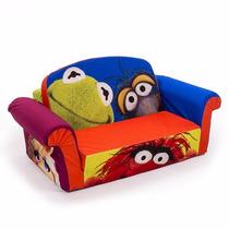 Sillon Sofa Cama Disney Muppets Envio Gratis!!