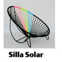 Sillas Acapulco ( Vinilos Flexibles) Silla Tejida Solar