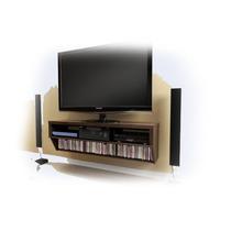 Mueble Consola Flotante De Pared Para Entretenimiento Vbf