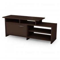 Mueble De Tv Y Multimedia Moderno Color Chocolate Pc1ch
