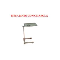 Mesa Mayo Con Charola De Acero Inoxidable