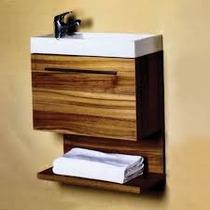 Mueble Para Baño Con Espejo Y Lavabo Castel Coruña