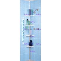 Esquinero Repisas Para Baño Armable Ajustable Nuevo Crr