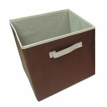 Cesto Para Ropa Caja Organizadora Chocolate Grande Dicsa