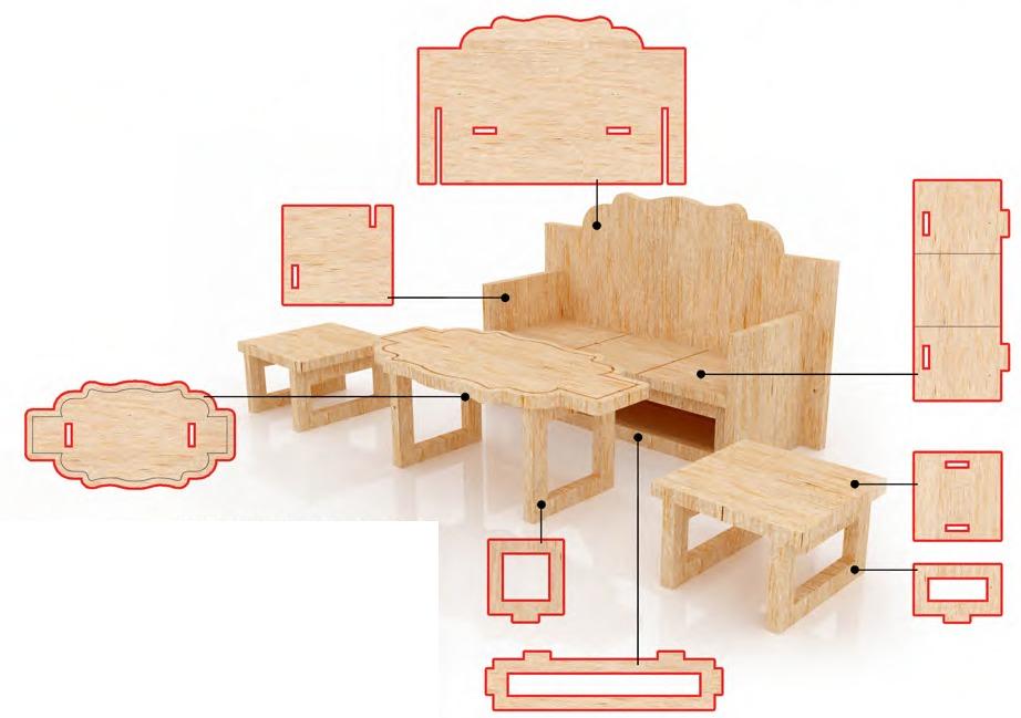 Muebles casa de munecas como hacer 20170722182008 for Como armar muebles de mdf