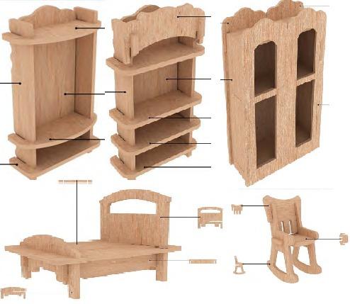 Muebles para casas de mu ecas imagui for Muebles casa de munecas
