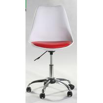 Silla De Oficina Tulip Chair C Llanta Alta Resistencia 7026