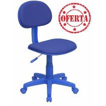 Silla Secretarial Azul