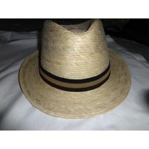 Sombreros De Palma Tipo Cubano Fedora Rm4