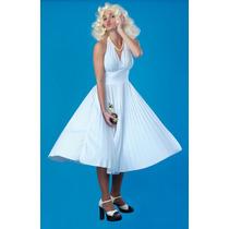 Marilyn Monroe Traje - Blanco De Las Señoras Del Vestido De