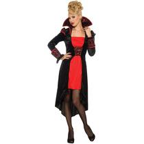Vampire Costume - Señoras Tamaño Pequeño 6-10 Gótica Vam
