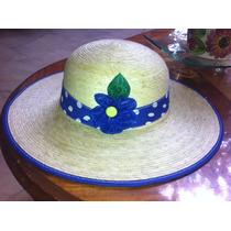 Sombreros Para Dama Hechos De Palma Vv4