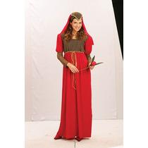 Julieta Traje - Señoras Rojo De Lujo Bonito Vestido Largo