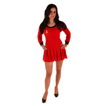 Star Trek Traje - Señoras Espacio De Viajeros Vestido De Lu