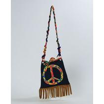 Hippie Disfraz - 60s Hippy Del Bolso Del Bolso Del Vestido D