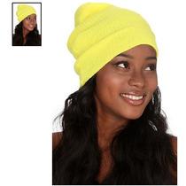 Hot Topic Gorro Yellow Neon Slouch Beanie