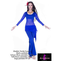 Vestuario Para Clases 3 Pz Danza Arabe Bellydance