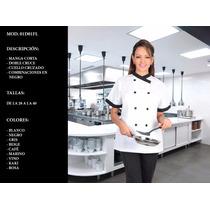 Filipina Para Chef Modelo Oriental Manga Corta Uniformes